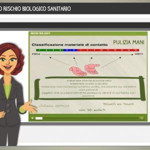 kit di formazione sul rischio biologico sanitario