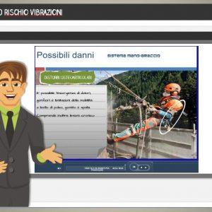 kit didattico relativo al rischio vibrazioni