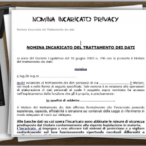 kit documentazione Privacy