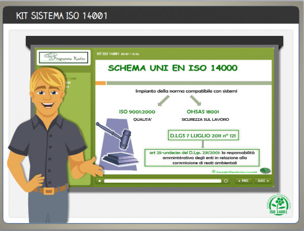 Kit formatore ISO 14001