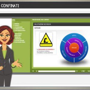 kit formativo di carattere generale relativo ai rischi connessi al lavoro svolto in spazi confinati